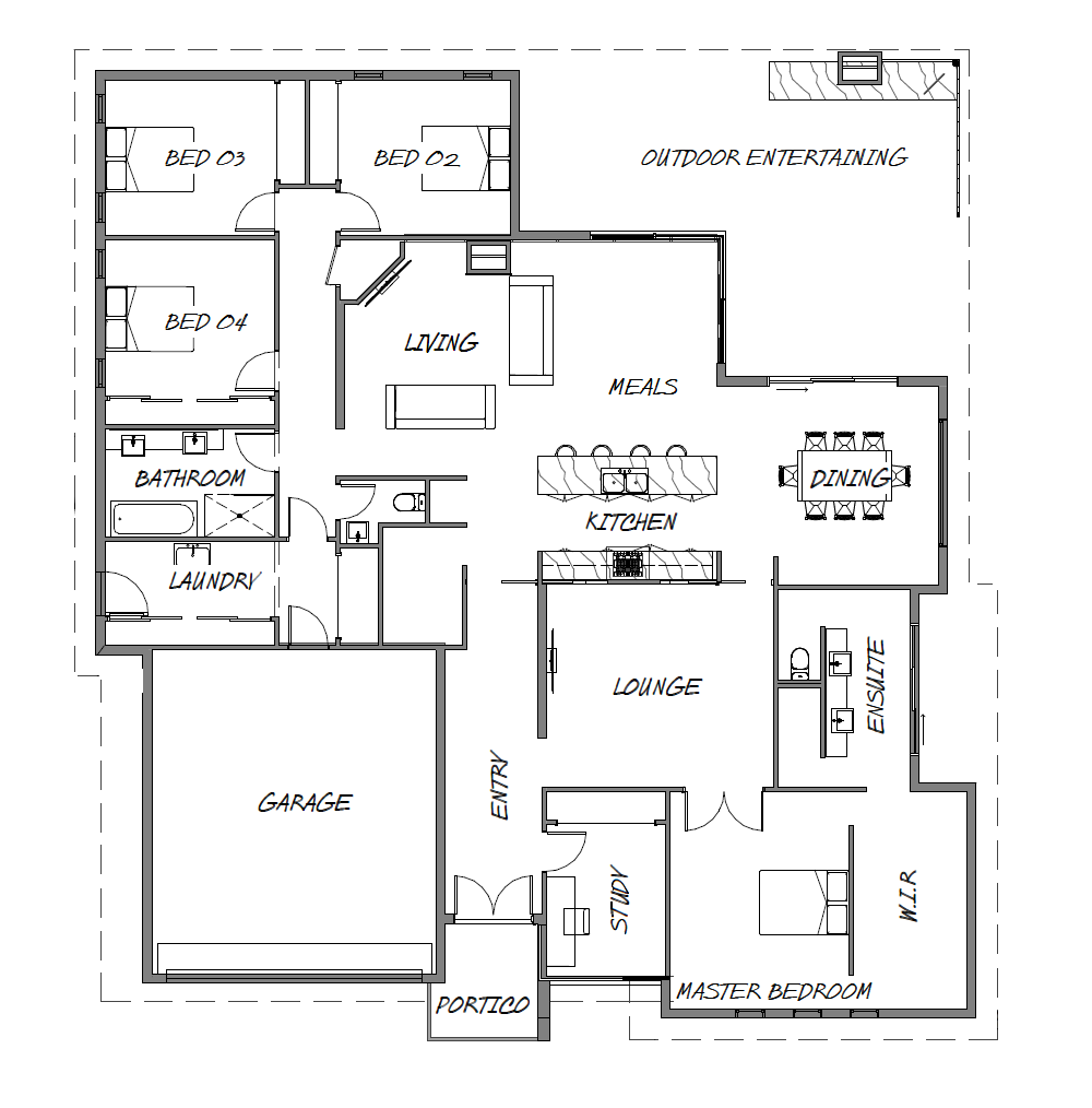 The Redgum Floor Plan - Gibney Building